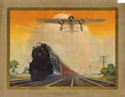Giant Conquerers of Space and Time Pennsylvania Railroad