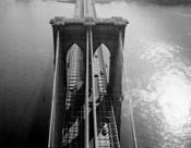 Brooklyn Bridge Tower Aerial