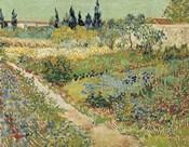 Bluhender Garten