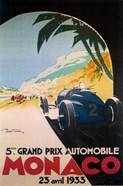 Grandprix Automobile Monaco, 1933