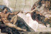 Michelangelo, Creation of man
