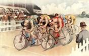 Bicycle Race Scene, 1895