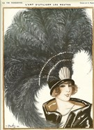 Lavie Parisienne Featherhat