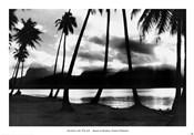 Sunset at Raiatea, French Polynesia