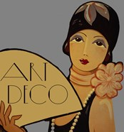 Art Deco Flapper