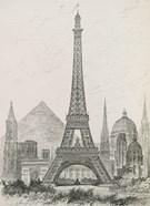 La Tour Eiffel - Hauteur Comparee