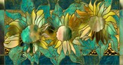 Verdigris Sunflower