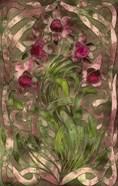 Art Nouveau Pink Floral