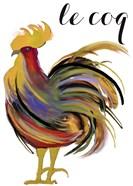 Art Nouveau Rooster I