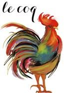 Art Nouveau Rooster II