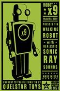 Quelstar X9 Tin Toy Robot
