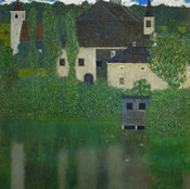 Unterach Manor On The Attersee Lake In Austria,  1915-1916