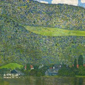 Litzlberg on Lake Attersee, Austria. 1915