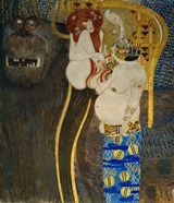 """Detail From """"""""The Hostile Powers"""""""": Head Of The Titan Typhoeus, 1902"""