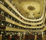 """Auditorium In The """"""""Altes Burgtheater"""""""", 1888"""