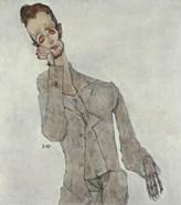 Portrait Of Painter Karl Zakovsek, 1910