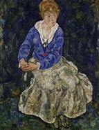 Portrait of Edith Schiele