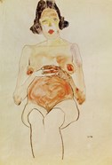 Red Nude, Pregnant, 1910