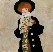Portrait Of A Woman With Black Hat (Gertrude Schiele), 1909