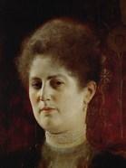 Portrait of a Lady (Perhaps Mrs.  Heymann)