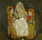 Mother With Two Children, 1915