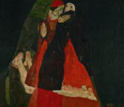 Cardinal And Nun (Liebkosung), 1912