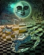 Art Nouveau Zodiac Cancer