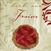 Tartes Francais, Strawberry