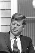 Digitally Restored President John F Kennedy