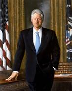 Bill Clinton in White House