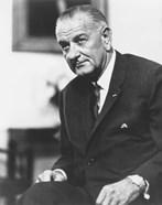 Digitally Restored President Lyndon B Johnson