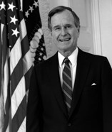 President George HW Bush