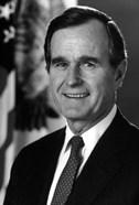 Digitally Restored George HW Bush