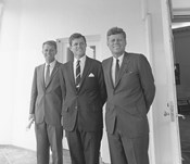 President John Kennedy and Brothers