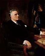 Digitally Restored President Franklin Roosevelt