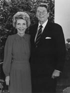 President Ronald Reagan and Nancy