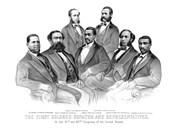 First African American Senator and Representatives