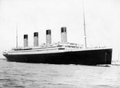 RMS Titantic Departing Southampton