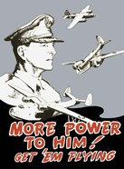General Douglas MacArthur and Bomber Planes