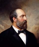 Vintage President James Garfield