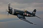 A Vought F4U-4 Corsair