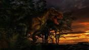 Tyranosaurus Rex in a Forest