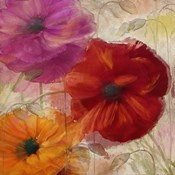 Penchant For Poppies I