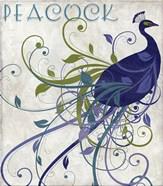 Peacock Nouveau I