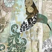 Hummingbird Batik I