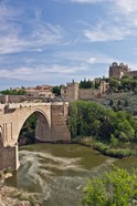St Martin's Bridge, Tagus River, Toledo, Spain