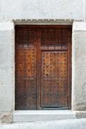 Traditional Door, Toledo, Spain