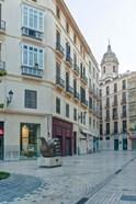 Historic District, Malaga, Spain