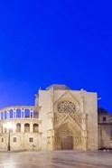 Valencia Cathedral at Dawn, Valencia, Spain