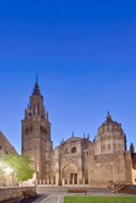 Toledo Cathedral at Dawn, Toledo, Spain